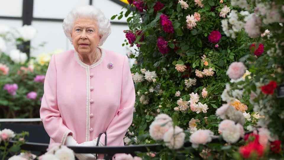 Queen Elizabeth II. bei der Chelsea Flower Show