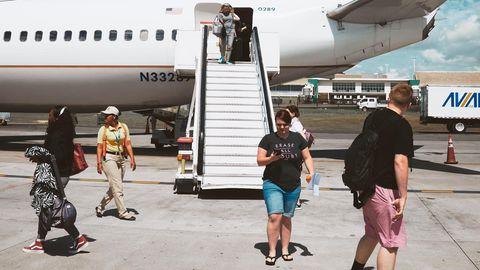 Müssen Flugpassagiere bald vor Beginn der Reise auf die Waage?