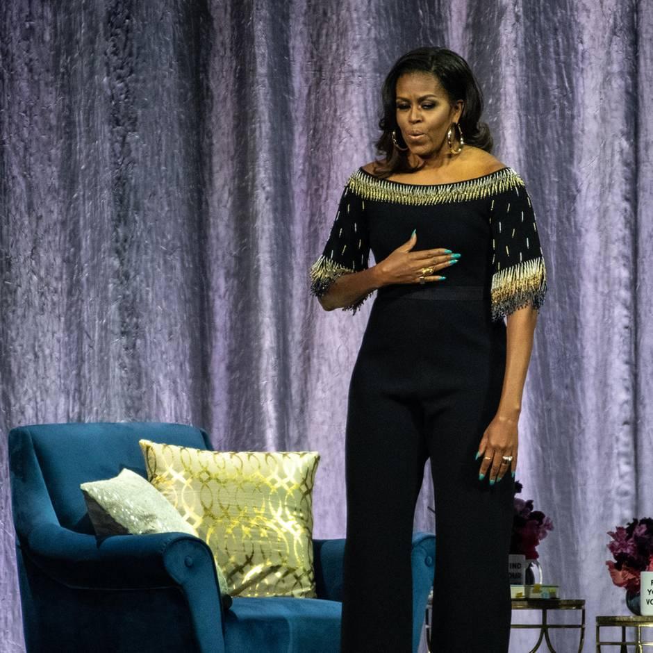 """Michelle Obama : """"Genauso wie Trump"""" – deshalb sind Väter jetzt wütend auf Michelle Obama"""
