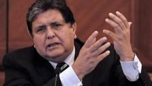 Gegen Perus ehemaligen Präsidenten Alan Garcíawurde wegen des Verdachts der Annahme von Bestechungsgeldern ermittelt