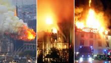 Notre-Dame, Schloss Windsor, Bibliothek in Weimar: Wenn Geschichte in Flammen aufgeht