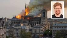 """Experte: Notre-Dame-Berichterstattung von ARD, ZDF & Co. """"wirkte etwas unglücklich"""""""