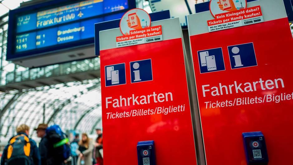 Im Nahverkehr gibt es bereits die reduzierte Mehrwertsteuer auf Tickets