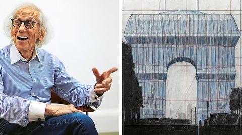 Christo: Der Verhüllungskünstler  zieht im stern-Interview Bilanz