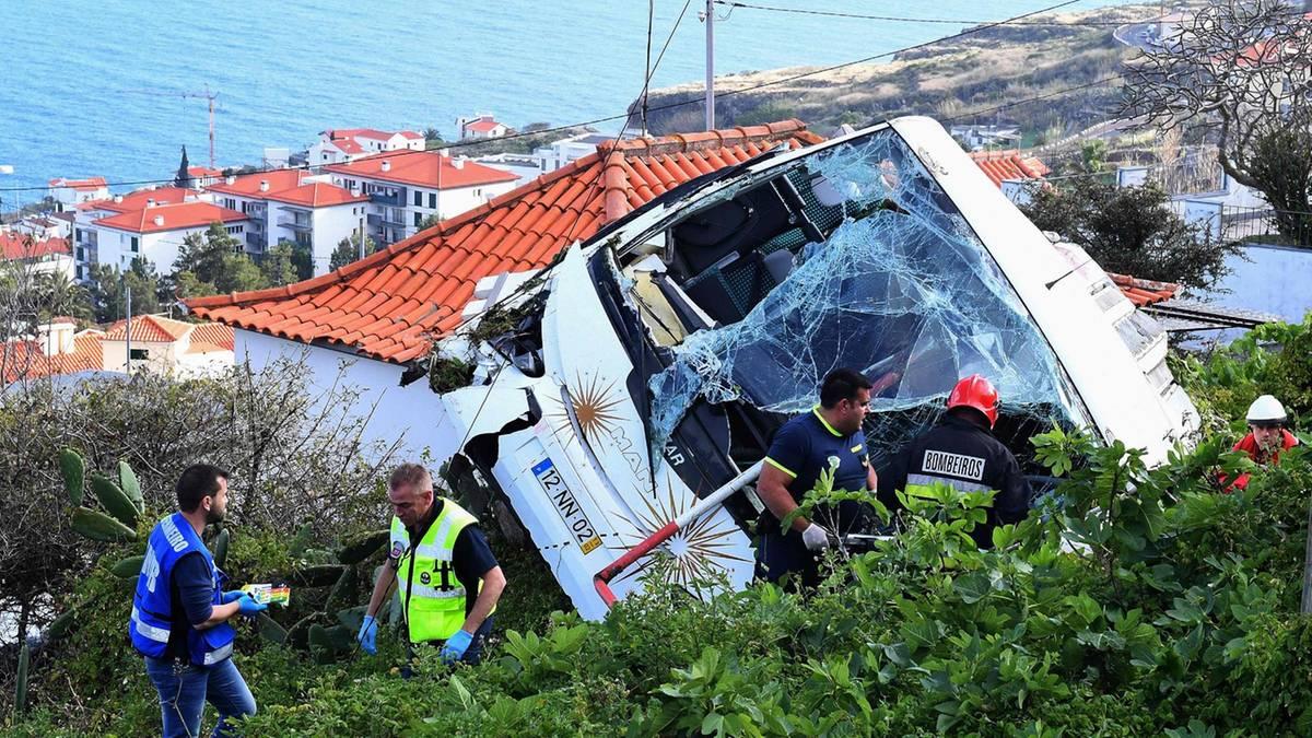 29 Tote bei Busunfall: Caniço auf Madeira – hier geriet der Reisebus von der Straße