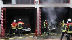 Feuerwehr in Saarbrücken