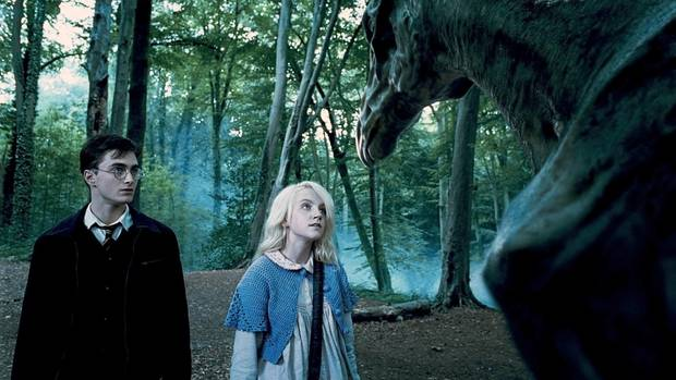 Harry Potter und Luna Lovegood