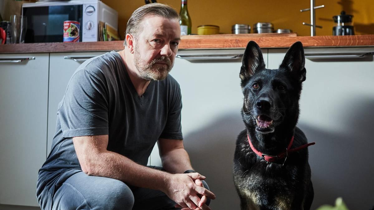 """Dramedy mit Ricky Gervais: """"After Life"""": So witzig, böse und herzzerreißend kann die Trauer eines Witwers sein"""