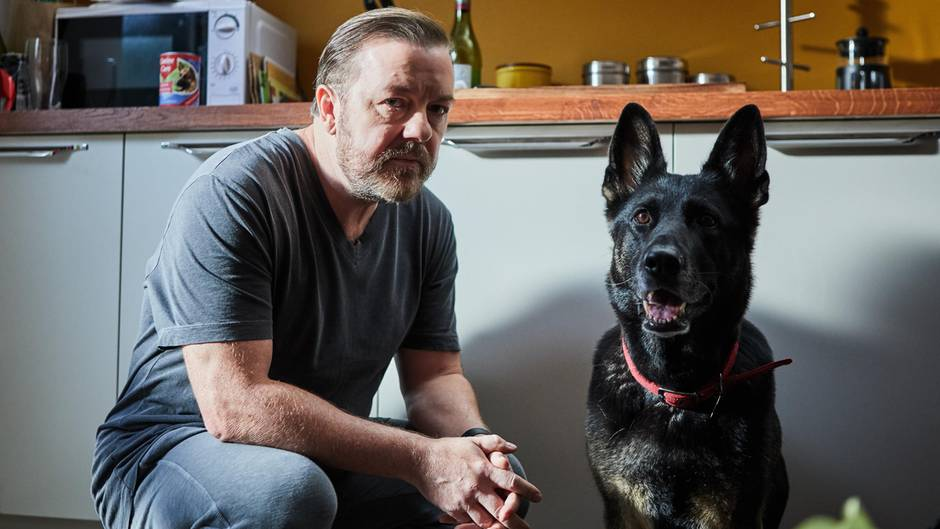 """Ricky Gervais in """"After Life"""""""