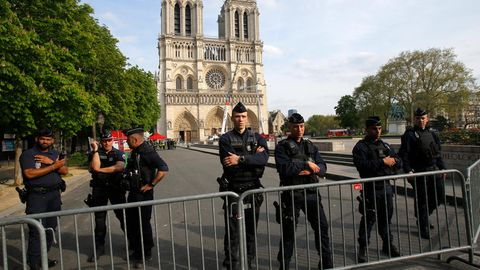 Kurzschluss könnte Brand der Notre-Dame verursacht haben