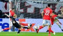 Eintracht Frankfurt vs Benfica Lissabon 2-0 - Rode schießt das 2-0