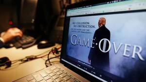 Game over - der Präsident macht es sich etwas einfach.