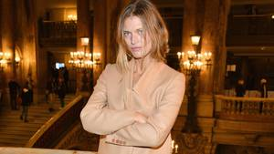 Malgosia Bela auf der Stella McCartney-Show in Paris