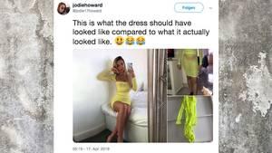 Fail beim Online-Shopping: Dieses Kleid entfacht einen Lachflash