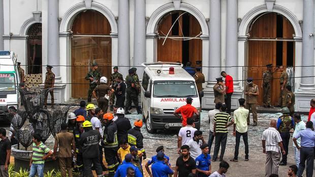 Anschläge in Sri Lanka
