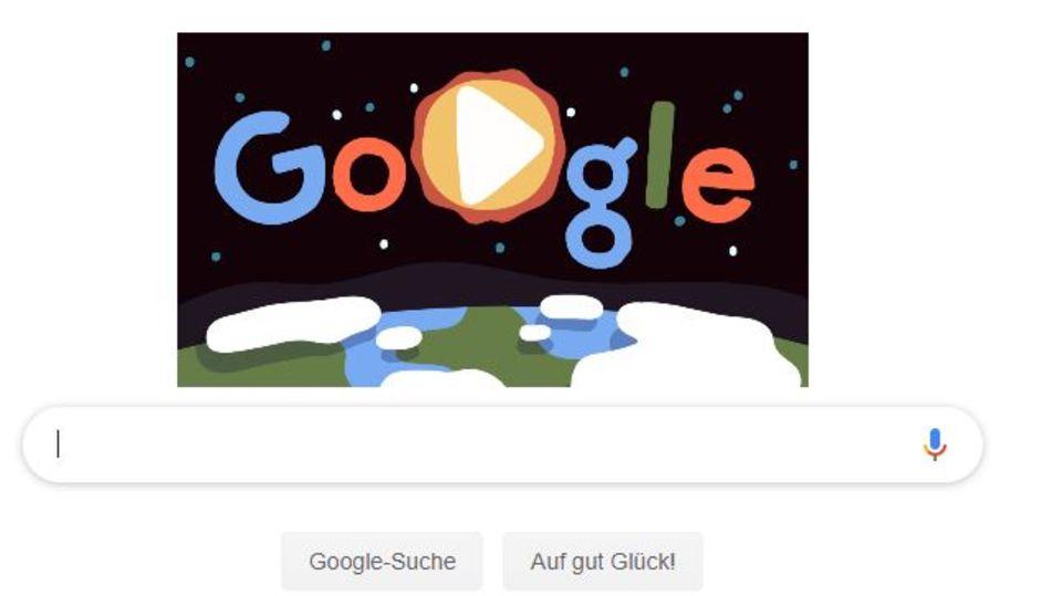 Google Doodle zum Earth Day