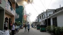 Sri Lanka Sprengung einer Bombe
