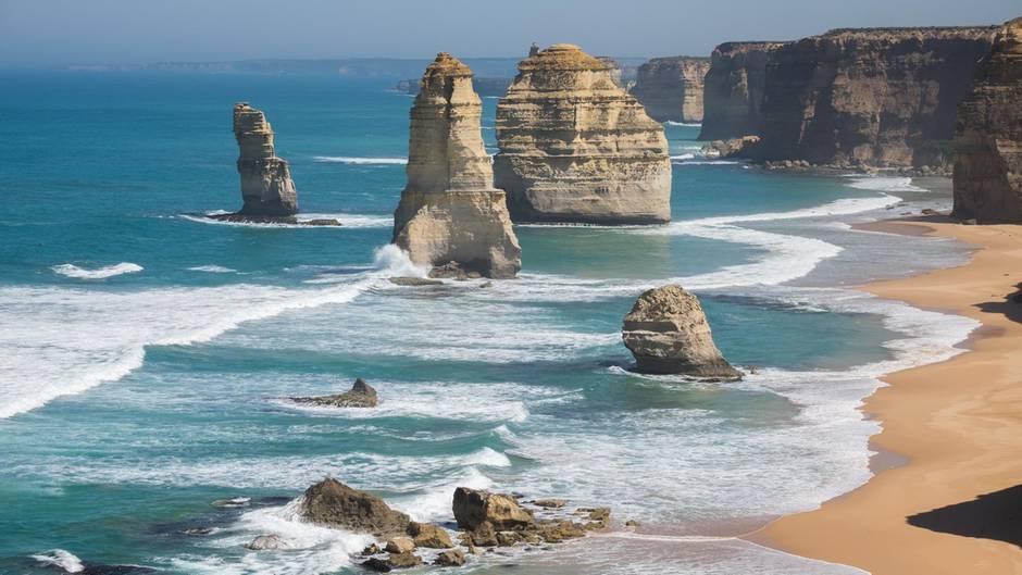 Australien - Rettungsschwimmer - Tourist - Zwölf Apostel