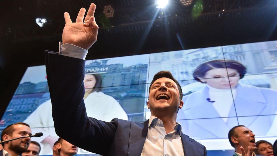 """Pressestimmen zur Ukrainewahl: """"Selenskys Aufstieg ist Ausdruck des kranken ukrainischen Systems"""""""