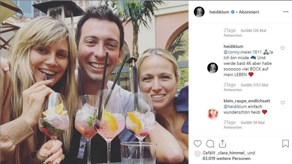 Leute von heute: Heidi Klum erntet Kritik für Instagram-Foto – und kontert ziemlich cool