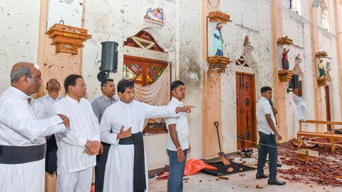 St.-Sebastian-Kirchein Sri Lanka