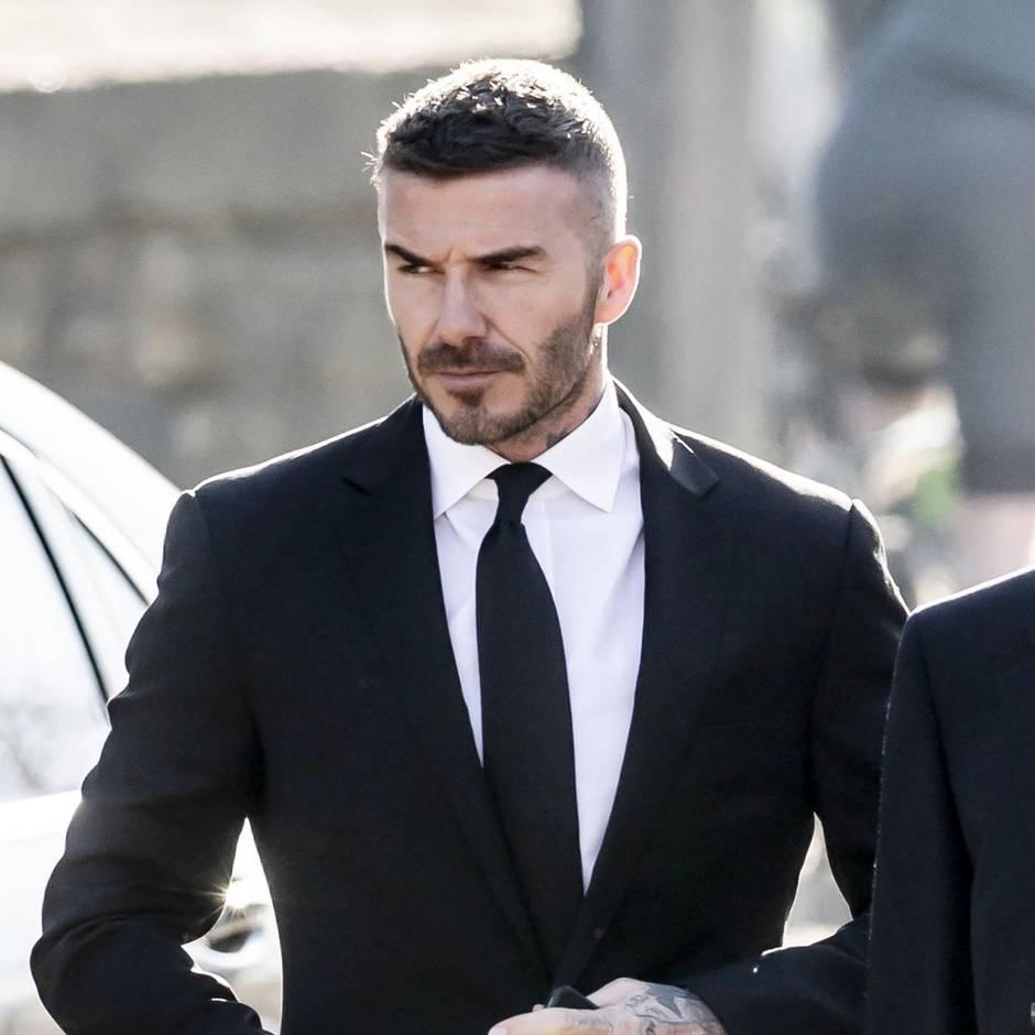 Fußball-Legende: So stellte sich ein Magazin von 1998 David Beckham im Jahr 2020 vor