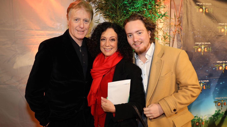 Barbara Wussow mit ihrem Mann Albert Fortell (l.) und ihrem Sohn Nikolaus