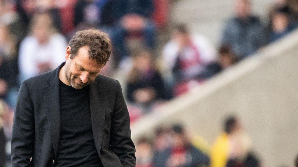 Wird ihn die Bundesliga wiedersehen? TrainerMarkus Weinzierl ist jetzt wieder arbeitlsos