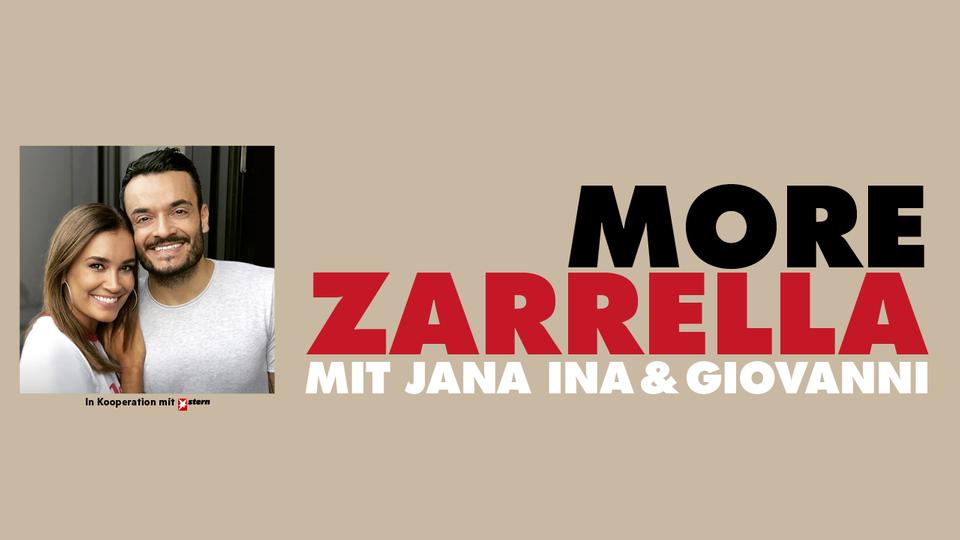 """Der neue Podcast """"More Zarrella"""" von Jana Ina und Giovanni Zarrella erscheint immer am Mittwoch"""