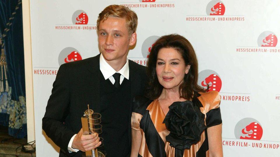 Matthias Schweighöfer und Hannelore Elsner