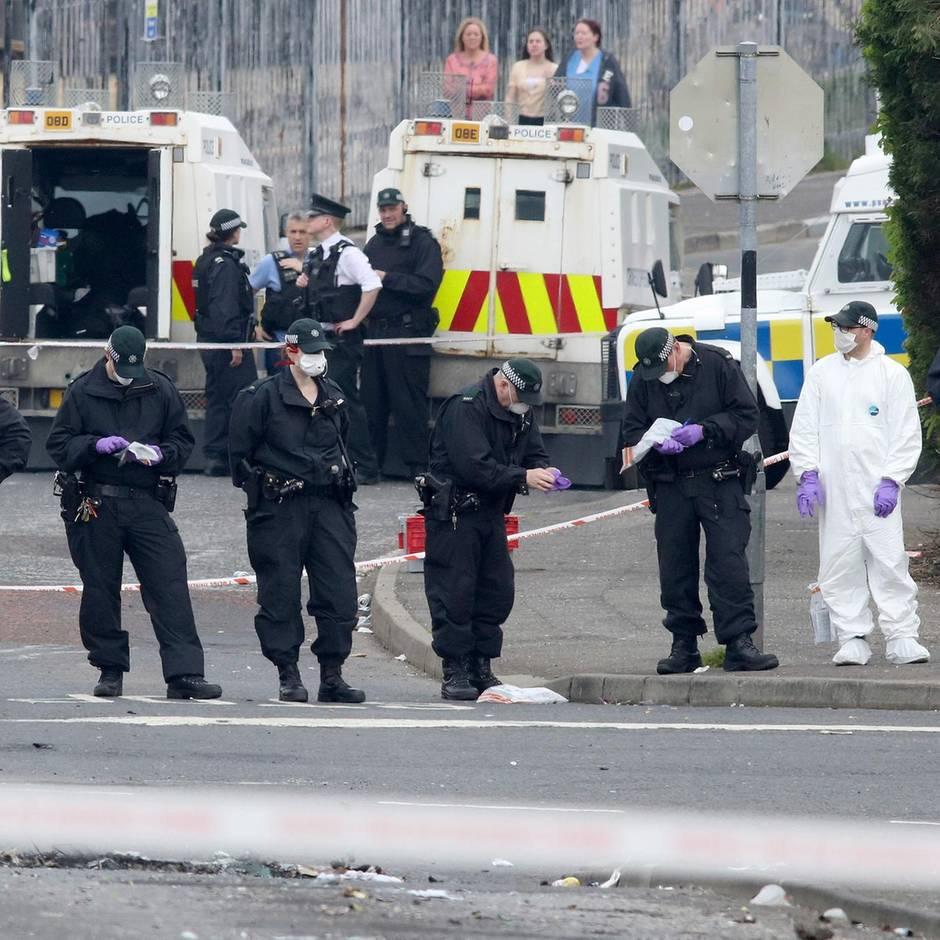 """Nordirland-Konflikt: Die """"New IRA"""" – Wer ist die Gruppe, die wieder für Terror in Großbritannien sorgt?"""