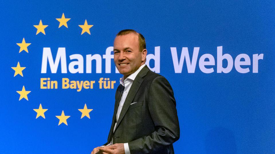 EVP-Spitzenkandidat Manfred Weber