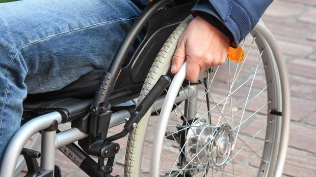 Der Rollstulfahrer hatte riesiges Glück, dass er noch gefunden wurde