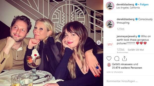 Vip News: Gwyneth Paltrow sitzt mit Freundin von Ex-Mann Chris Martin zusammen