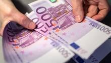 500 Euro Schein- Aus - Ausgabestopp