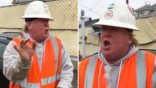 Thomas Mundy: Dieser Bauunternehmer ist Trump zum Verwechseln ähnlich