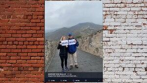 Angebliche Trump-Fans zeigen, warum man sich nie so fotografieren lassen sollte