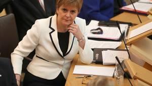 Schottlands RegierungschefinNicola Sturgeon