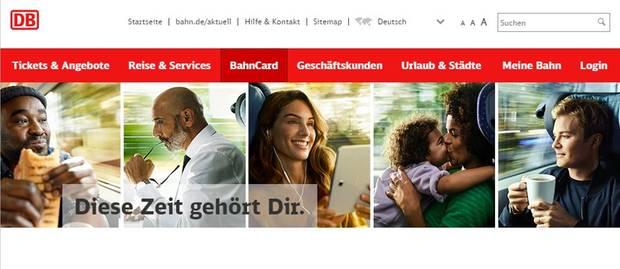Die umstrittene Werbekampagne der Deutschen Bahn