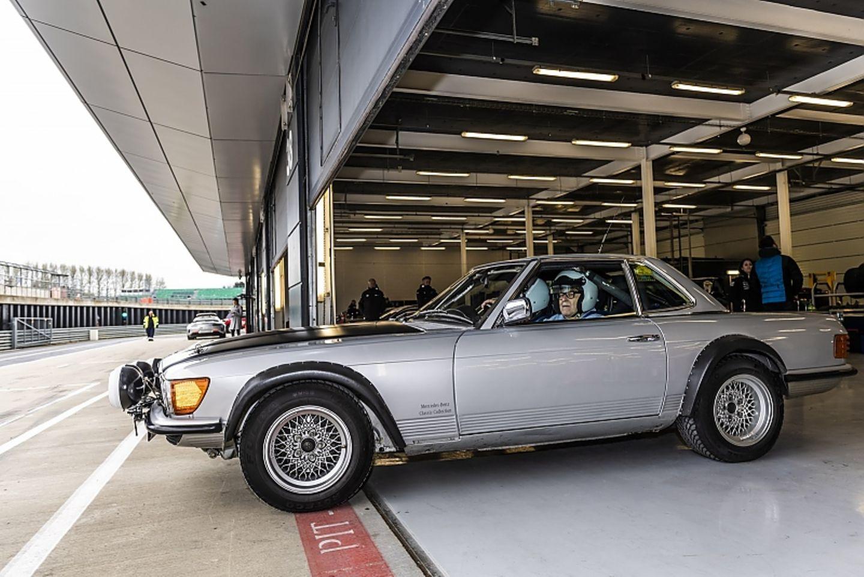 Mercedes 500 SL R 107 Rallye