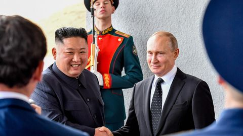 Kim Jong Un - Wladimir Putin - Gipfeltreffen
