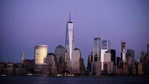Die Skyline von New York
