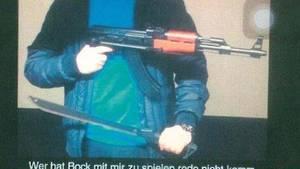 nachrichten deutschland - sek-einsatz nach posting