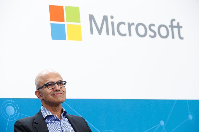 Aktienhoch nach Quartalszahlen: Microsoft-Chef Satya Nadella krempelte den Konzern kräftig um