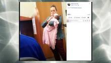 Professorin kümmert sich während Klausur um krankes Baby