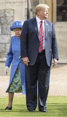 Queen Elizabeth II., Donald Trump
