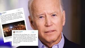 Joe Biden fährt Frontalattacke gegen Trump – dieser schießt prompt zurück