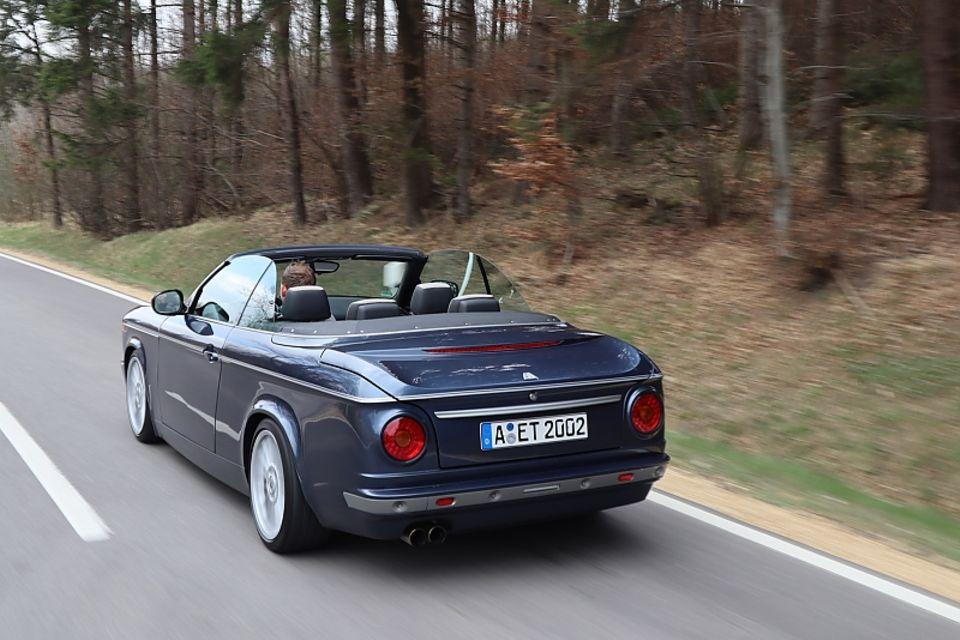 Everytimer ETA 02 Cabrio - basiert auf dem BMW 1er Cabrio