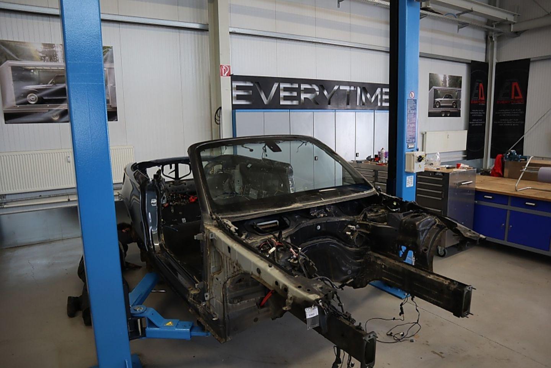 Everytimer ETA 02 Cabrio - hier wird an Nummer vier gearbeitet
