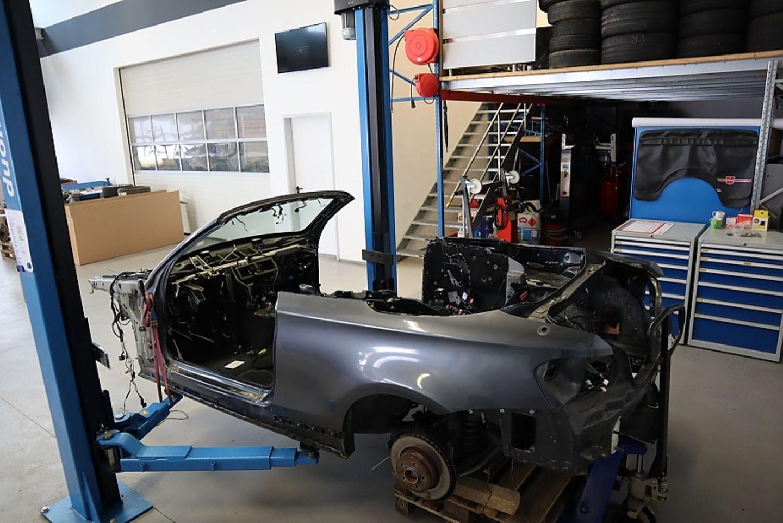 Everytimer ETA 02 Cabrio - der Umbau dauert drei Monate